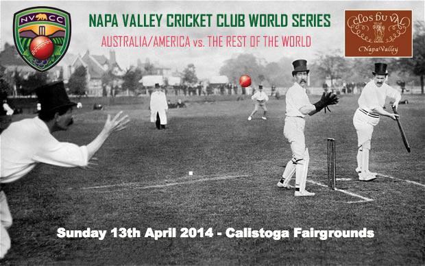 Napa Valley Cricket Club World Series April 2014